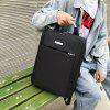 xyz1810 Men's Computer Bag Large Capacity Backpack with USB Charging Hole - BLACK