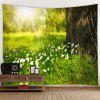 3D Digital Printing Decoration Cloth Wall Tapestry - MULTI