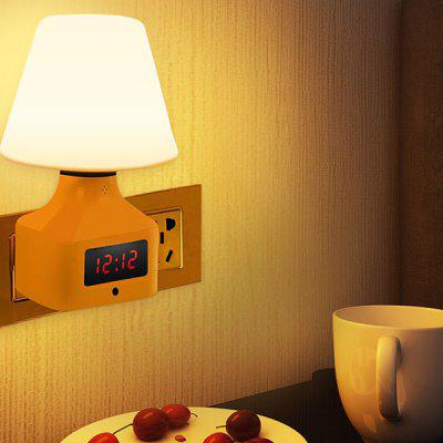 Sanlang - 087 Plug Radio Infrared Remote Control Night Light Bedside Lamp