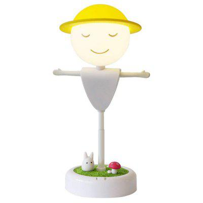 LED Scarecrow Vibration Induction Night Light USB Micro