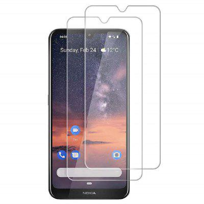QULLOO 2.5D Full Coverage Screen Protector do Nokia 3.2 2PCS
