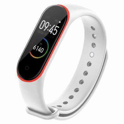 TAMISTER Two-Color Anti-Lost Replacement Strap for Xiaomi Mi Band 4
