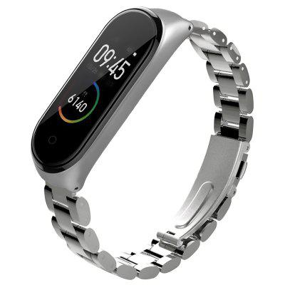 TAMISTER Replacement Steel Wrist Strap for Xiaomi Mi Band 4