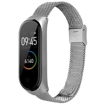 TAMISTER Metal Replacement Wrist Strap for Xiaomi Mi Band 4
