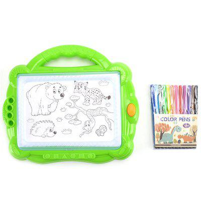 Children Educational Early Backlit Color Portable Painting Board