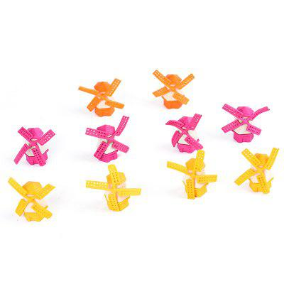 Color Windmill Toy for Kids 10pcs