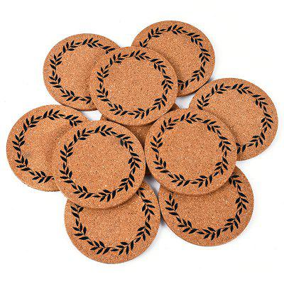 Moss Micro Landscape Decorations  Cork Mat 10pcs