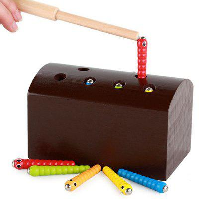 Puzzle Catching Insects Early Education Toy
