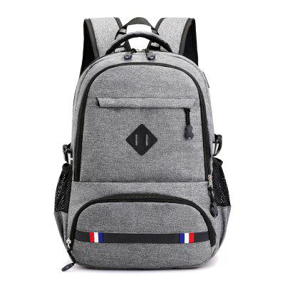 Men's Backpack USB Charging Fashion Casual Computer Bag