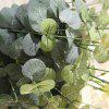 16 Heads Money Leaves Artificial Plant - MEDIUM SEA GREEN