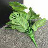 Turtle Leaves Decorative Art Plant - JUNGLE GREEN