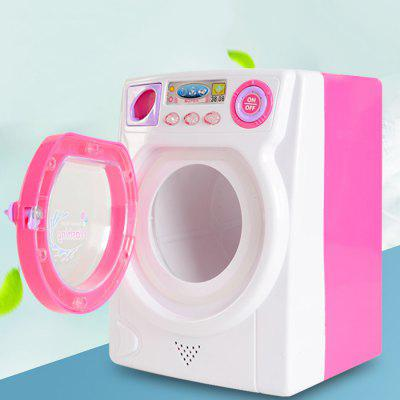 Children Luminous Electric Makeup Brush Washing Machine Toy
