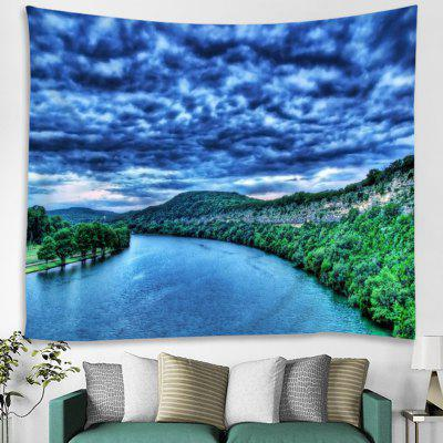 Blue Water Tapestry House Decoration