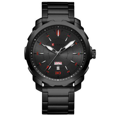 CURREN 8266 Men  's Business Quartz Watch