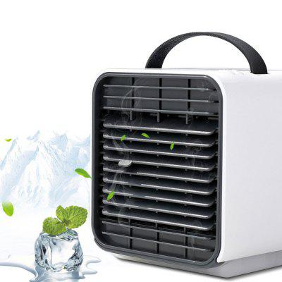 BRELONG WT - F12 Mini USB Air Cooler Night Light Fan Humidifier