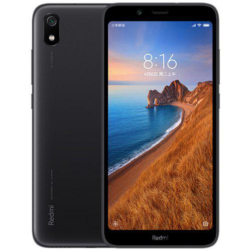 Gearbest Xiaomi Redmi 7A 5.45 inch 4G Smartphone Global Version - Black 5.45 inch Android 9.0 Snapdragon SDM439 Octa Core 2GB RAM 32GB ROM 13MP Rear Camera 4000mAh Battery