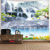 Indoor Wall Decoration Polyester Printed Tapestry for Living Room Hall Bedroom - MULTI-A