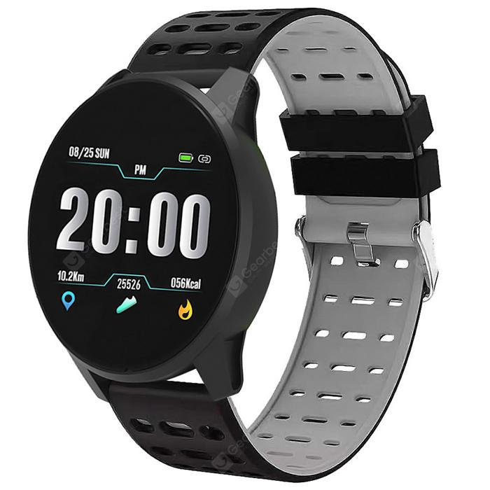 Alfawise B2 RFID Sports Smart Watch Fitness Tracker - Gray Goose