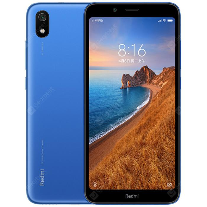 Xiaomi Redmi 7A 4G Smartphone Global Version - Blue and black