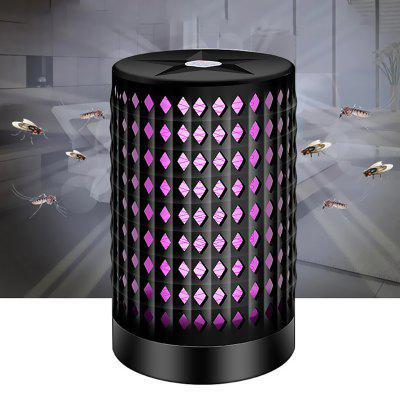 BRELONG USB Night Light Mosquito Killer Lámpara silenciosa LED No química Inofensiva en modo dual para familia / oficina