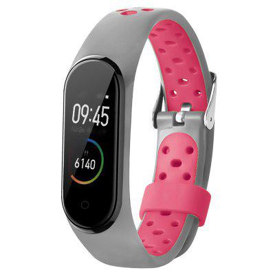 TAMISTER Two-Color Sports Anti-lost Replacement Wristband for Xiaomi Band 4