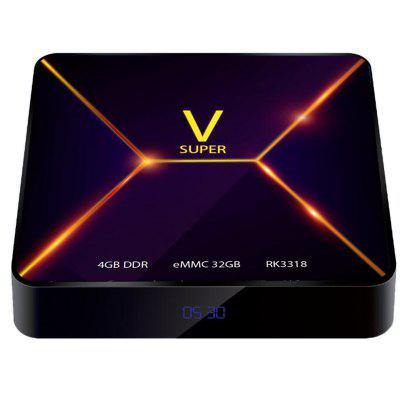 Super V TV Box Android 9.0