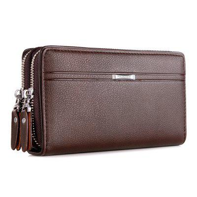 Men's Wallet Soft Leather Business Large Capacity