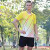 Short-sleeved T-shirt Quick-drying Breathable - YELLOW