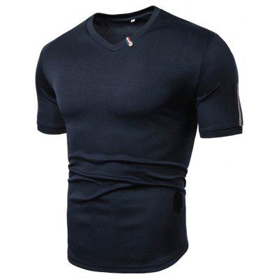 Men's T-shirt Casual Sports Large Size