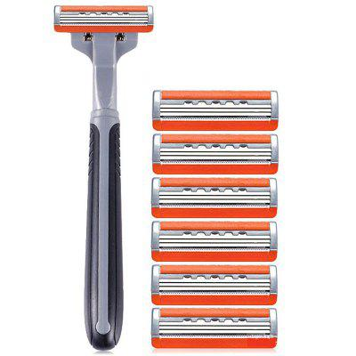 Men Manual Razor 3 Layer Blade