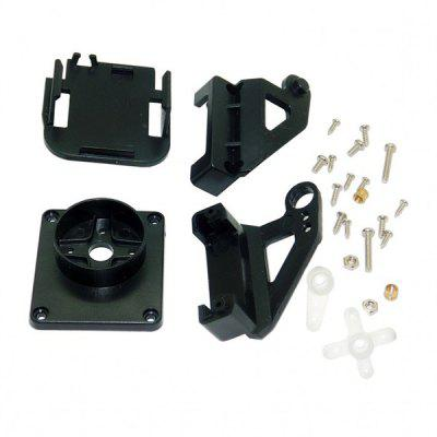 Miniature Plastic FPV Two-axis Steering Gear Gimbal