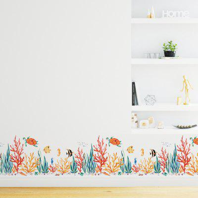JM8391 Marine Life Decorative Wall Sticker