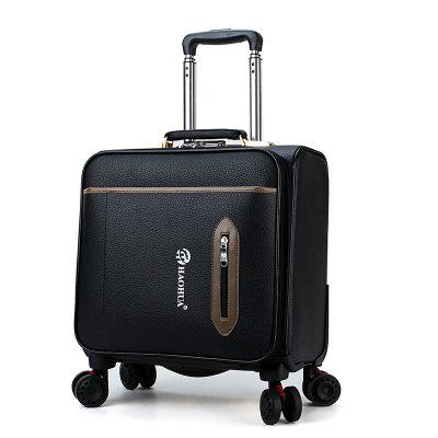 18 inch Retro Men's Business Trolley Case