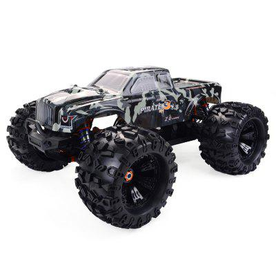 ZD Racing MT8 Pirata 3 1/8 Brushless RC Monster Camion RTR