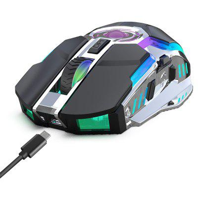 ZERODATE T30 2.4GHz Wireless Rechargeable Mouse