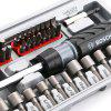 BOSCH 46 in 1 Ratchet Screwdriver Bit Set Extension Rod - GRAY