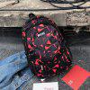 Outdoor Geometric Pattern Cool Fashion Backpack - RED