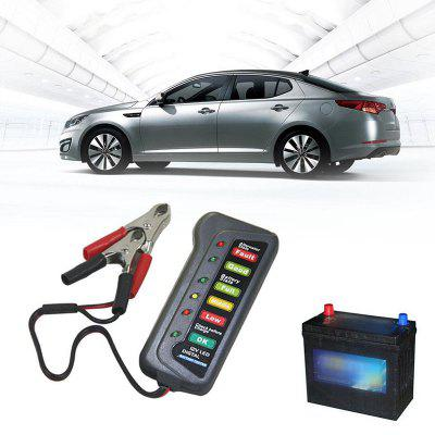 2V 6 LED Licht Display Mini Auto Batterie Tester
