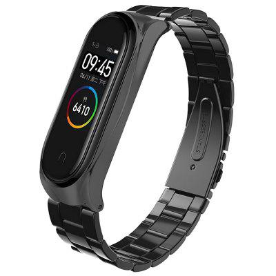 TAMISTER Solid Steel Replacement Wrist Strap for Xiaomi Band 4