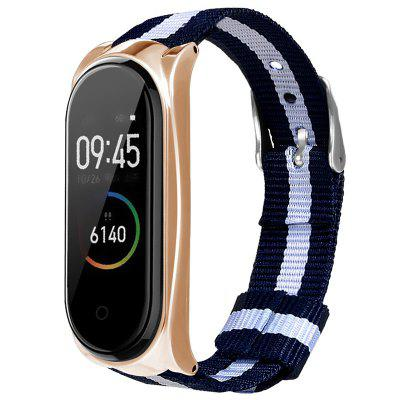 TAMISTER Canvas vervanging polsband voor Xiaomi Band 3/4