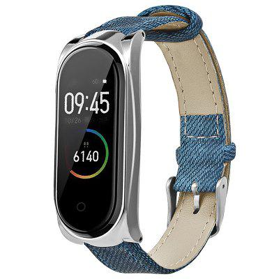 TAMISTER Retro Belt Replacement Wrist Strap for Xiaomi Band 3 / 4