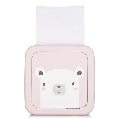 Gearbest - GOOJPRT GT1 Mini Paper Photo Printer