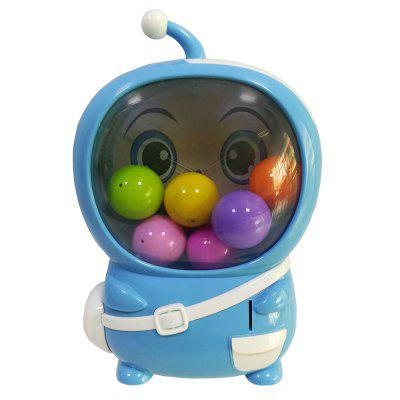 6038 Electric Coin Twisting Egg Lottery Machine with Light Music