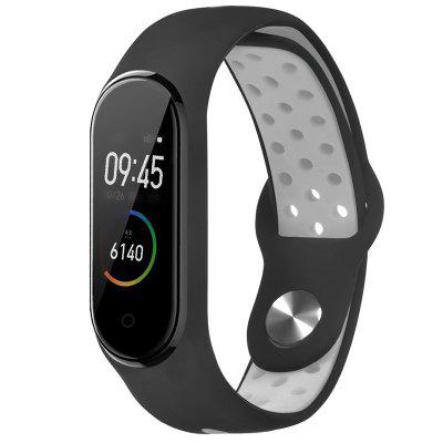 TAMISTER Two-color Belt Replacement Wristband for Xiaomi Band 3 / 4
