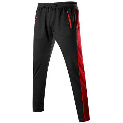 Men's Pants Sports Stitching Trousers