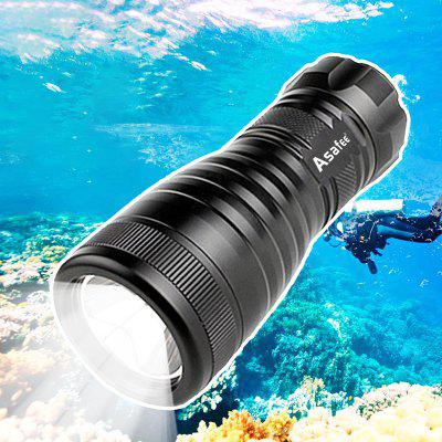 Asafee ED03 Diving Flashlight 150m Underwater 1000lm Max 300m