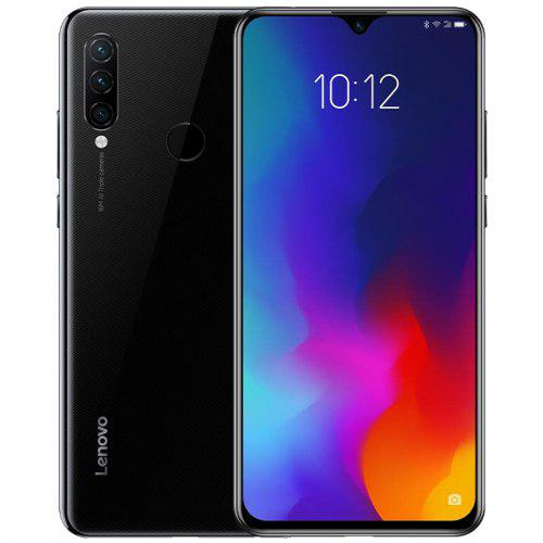 Gearbest Lenovo Z6 Lite 4G Phablet International Version - Black 6.3 inch Android 9.0 Snapdragon 710 Octa Core 4GB RAM 64GB ROM 16.0MP + 8.0MP + 5.0MP Rear Camera 4050mAh Battery