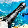 Asafee ED05 Diving Flashlight 150m Underwater Max 270m 1050lm - BLACK
