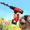 Soil Auger Drill Bit for Digging Pit Planting Plant Flower - BLACK