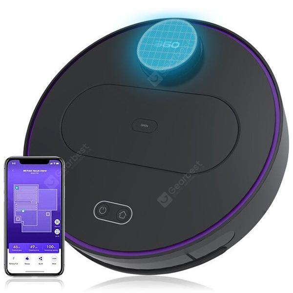 360 S6 Robotic Vacuum Cleaner for Wet Dry Use